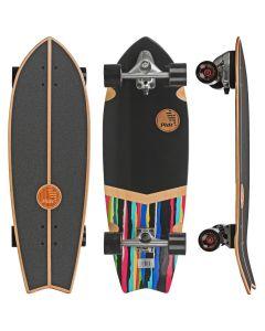 Slide Street Surf SkateBoard Urban Camo 32