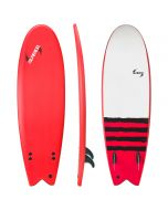 5'10 Performance Fish - Black Sox