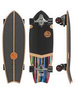 "Slide Street Surf SkateBoard Urban Camo 32"""