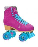 Candi Grl Carlin Quad Roller Skates (Raspberry)