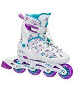 Stinger 5.2 Girl's Inline Skates - Adjustable Sizes (12-2) or (2-5)
