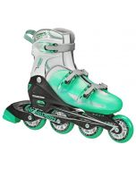 V-Tech 500 Women's Inline Skates - Adjustable from size 7 to 10 (Mint)