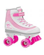 FireStar Youth Girl's Roller Skate - White/Pink