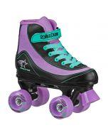 FireStar Youth Girl's Roller Skate - Purple/Black/Mint